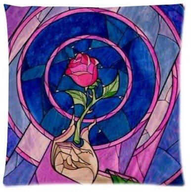 uk-jewelry-fairy-tale-magic-world-bellezza-e-la-bestia-stained-glass-rose-love-personalizzata-federa