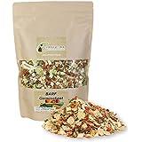 Carnivora BARF Gemüsebeet 500g - BARF Zusatz Nahrungsergänzung für Hunde - 100% natürliche Gemüseflocken (u.A. Karotte, Erbsenflocken,...) - getreidefreies Ergänzungsfuttermittel