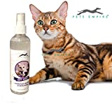 #9: Pets Empire New Waterless Cat Shampoo | All Natural Dry Shampoo for Cats No Rinse Required- 250 ml (Lavender)
