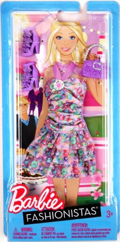 barbie-w3178-fashionistas-single-dress-outfit-and-accessories-for-doll
