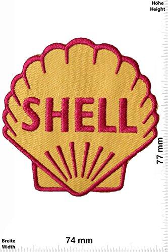 Patch - Shell - Muschel - Motorsport - Ralley - Auto - Rennsport - Motorbike - Motorrad - Patches - Aufnäher Embleme Bügelbild Aufbügler