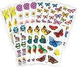 Avery Zweckform 58207 Frühling Sticker Set Frühlingsmotive (Vorteils-Pack) 209 Aufkleber