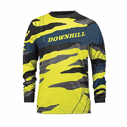 Uglyfrog Bike Wear Atmungsaktiv Trendy Herren Downhill/MTB Jersey Mountain Bike Shirt Fahrradtrikot Langarm Freeride BMX Fr¨¹hling Top MF10