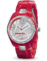Miss Sixty SRA002 - Reloj de pulsera para mujer, plata