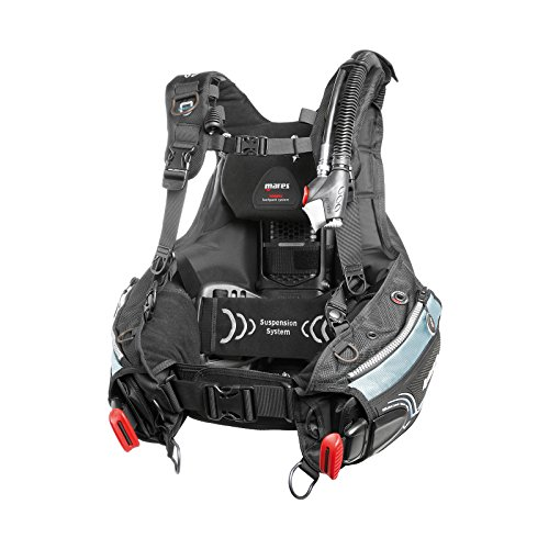 Mares BCD Hybrid MRS+ She Dives - Chaleco para mujer, color negro, tal