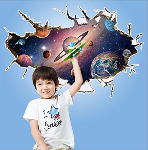 zooarts-3d-outer-space-star-wall-stickers-removable-wall-decals-art-decor-vinyl-home-room-kids-mural