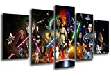 Wandbild - Bild Star Wars, Darth Vader, 165x 62 cm, Holzdruck - XXL Format - Kunstdruck, 26021