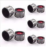 Sparstrahlregler M24x1 Mischdüse für den Wasserhahn -Wasser sparen- (5er-Pack)
