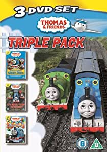 Thomas & Friends - Triple Pack - All Aboard with the Steam Team / It's Great to be an Engine / Peep! Peep! Hurray! Three Cheers for Thomas [DVD]