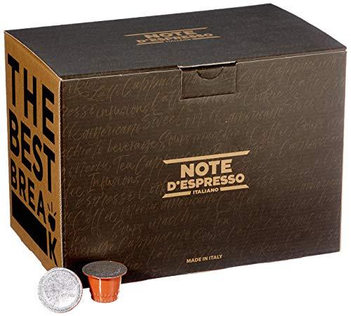 Note D'Espresso - Cápsulas de manzanilla con miel y naranja, 6g (caja de 100 unidades)