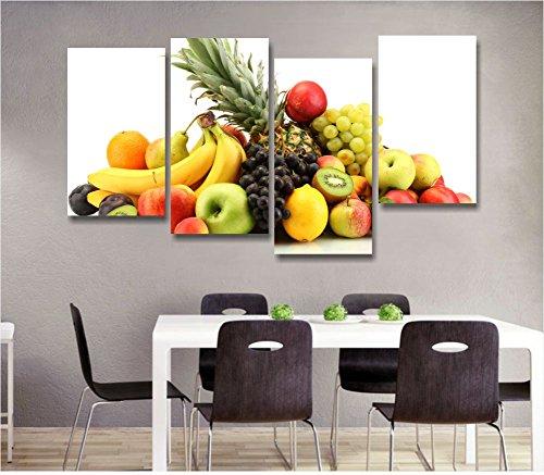 Frutta 5 - Quadro moderno intelaiato 152x78