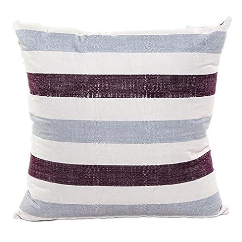 winhurn Stripe quadratisch Kissenbezug Kissenbezug für Sofa Bett Home Decor,