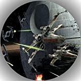 Fondant Tortenaufleger Tortenbild Geburtstag Star Wars T40
