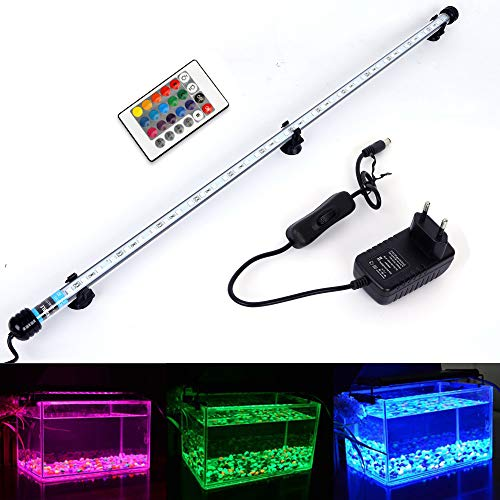 MLJ LED Aquarium Lighting Luce di Pesce Drago Illuminazione per Acquario Impermeabile