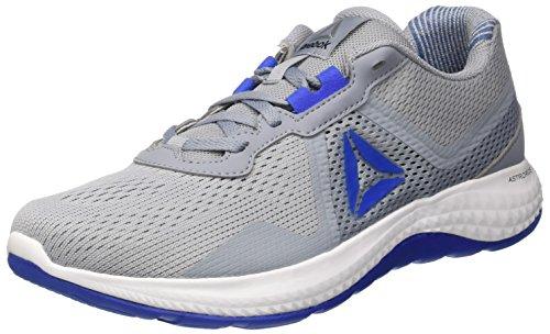Reebok Astroride Duo Edge, Zapatillas de Running Para Hombre, Gris (Meteor/Vital Blue/Black/White/Alloy), 42.5 EU