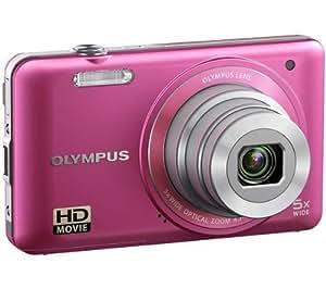 OLYMPUS VG-130 - rose + Carte mémoire SDHC 8 Go .