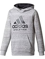Adidas Performance Sweat Sport Id Hoodie Gris Sweat Capuche Enfant Multisports