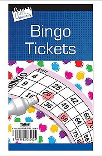 600Bingo Tickets Stationery Bücher Seiten Multi Spiel Spielzeug Kinder Erwachsene Fun Jumbo