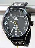 IMC Manufactoria Fliegeruhr 60 Jahre LTG Transall schwarz Herren Armbanduhr Transportflugzeug Uhr