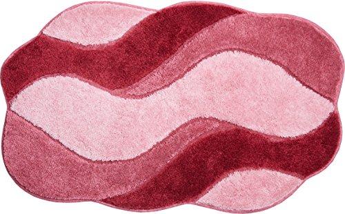 Felpudos de Goma fibra sintética, Rose, 80x 140x 2,4cm