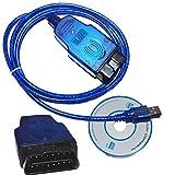 OBD2 EOBD Tech2 USB für Opel Auto Diagnose Kabel Car Diagnostic Cable Interface
