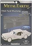 Fascinations Metal Earth MMS056 - 502606, 1965 Ford Mustang Coupe, Konstruktionsspielzeug, 2 Metallplatinen, ab 14 Jahren