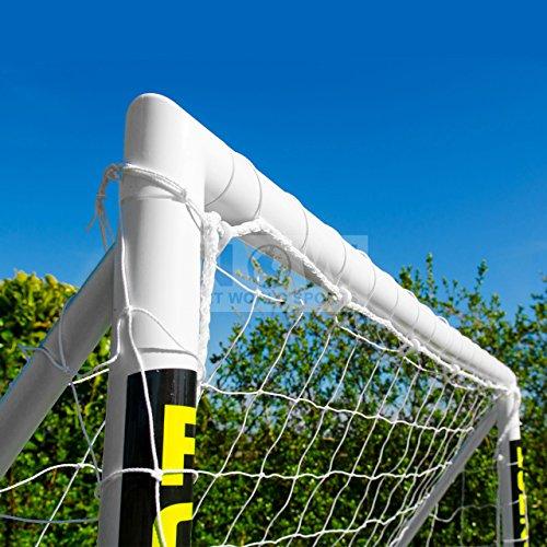 FORZA - 3 x 2 m wetterfestes Fußballtor. Neu: auch mit abnehmbarer Torwand bestellbar! [Net World Sports]
