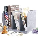 Estantería - Estantería De Escritorio Para Estudiantes Simple Estantería De Libros Creativa Simple Estantería Libro De Folletos Libro Gris