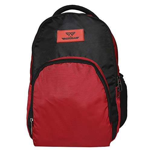 AEROBAG Crusader Red School Bag