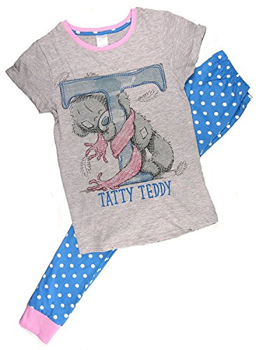 - 51LlB9sstjL - Womens Official Me to You Tatty Teddy Feathers Gift Pack Pyjamas Plus Sizes from 8 to 22