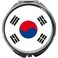 Pillendose/rund/Modell Leony/FLAGGE SÜD-KOREA preisvergleich bei billige-tabletten.eu