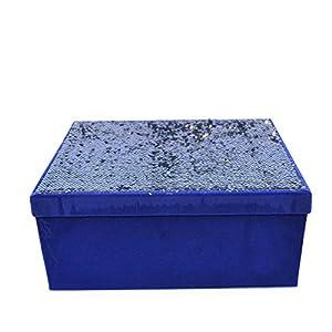 Gifts 4 All Occasions Limited SHATCHI-1339 Shatchi - Cajas de almacenaje (6 unidades), diseño de Shatchi, color rojo