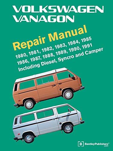 Volkswagen Vanagon Repair Manual 1980-1991 por Volkswagen Of America
