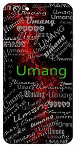 Umang (Enthusiasm) Name & Sign Printed All over customize & Personalized!! Protective back cover for your Smart Phone : Vivo Y51L
