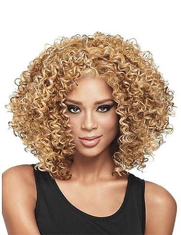 Perruque & WIGSTYLE Perruques Fashion nouvelle glueless mélange blond profonde de la mode des femmes bouclés courte perruque de cheveux pour les