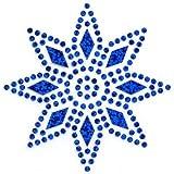 Folien Bügelbild / Applikation von Unique (Sapphire Star), 1 Stück