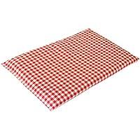 Rapssamenkissen 30x20cm rot-weiß | Als Wärmekissen & Kältekissen | Körnerkissen preisvergleich bei billige-tabletten.eu
