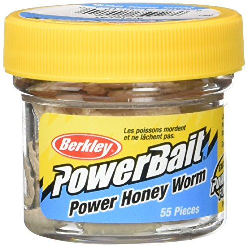 Berkley Powerbait - Gusanos de miel Blanco 55 grams...
