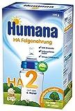 Humana Folgenahrung HA 2 mit hydrolysiertem Eiweiß, 1er Pack (1 x 500 g)