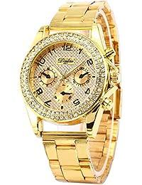AMPM24 WAA553 - Reloj para mujeres, correa de metal color dorado