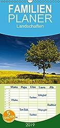 Landschaften - Familienplaner hoch (Wandkalender 2019 , 21 cm x 45 cm, hoch): Fotos von Landschaften. (Monatskalender, 14 Seiten ) (CALVENDO Natur)