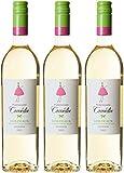 Mademoiselle Comédie RE675036 France Bordeaux Vin AOP 75 cl - Lot de 3 - 2015