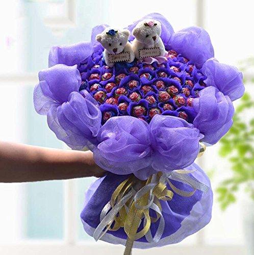 66Stick Candy Blumensträuße Lollipop Bouquet schokolade Blumensträuße Brautschmuck Hochzeit Bouquet