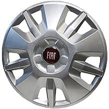 Original Tapacubos de 15pulgadas Llanta Emblema Rojo Fiat Ducato tipo 250A Partir de 2014OE 1374086080