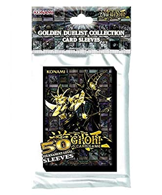 Yu-Gi-Oh KONGDCS pochettes pour cartes Golden Duelist, Lot de 50 - Version Anglaise
