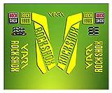 Pegatinas HORQUILLA Rock Shox Yari 2016 ELX28 Stickers Aufkleber AUTOCOLLANT ADESIVI Bicicleta Cycle MTB Bike 26