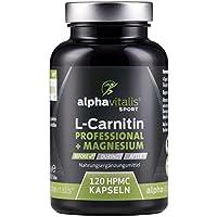 L-Carnitin Carnipure® Professional + Magnesium-Citrat - ohne Magnesiumstearat - 120 Kapseln - vegan preisvergleich bei fajdalomcsillapitas.eu