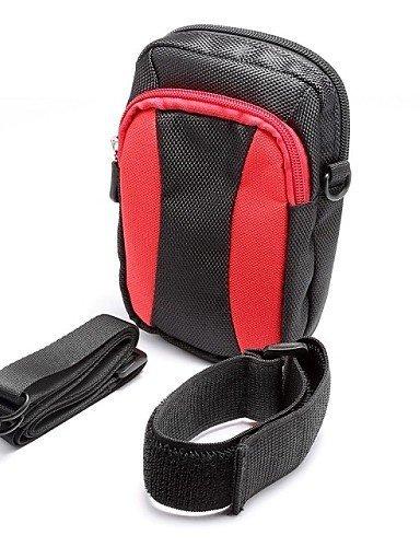GXS Outdoor Aktivitäten 14cm Diagonal Universal Serial Farbe Arm Band Aufhängen Tasche Taille Bergsteigen (verschiedene Farben) rot - rot