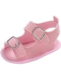 YanHoo Zapatos Unisex Zapatos Infantiles de Fondo Blando Zapatos de niño Sandalias recién Nacidos Suelas Suaves