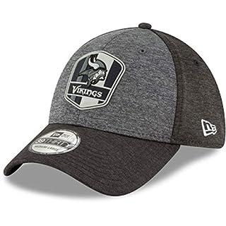 New Era 39Thirty Cap - NFL Black Sideline Minnesota Vikings